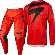 Shift 3LACK LABEL Mainline Motocross Offroad MX Gear Kit Red Adults