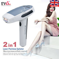 2in1 Laser IPL Permanent Hair Removal Machine Face&Body Skin Painless Epilator