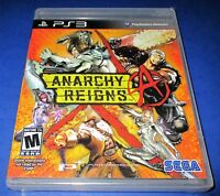 Anarchy Reigns Sony PlayStation 3 - PS3 - *Factory Sealed! *Free Shipping!