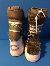 BEARS WINTER FAUX FUR BOOTS REMOVABLE INSERT SIZE 10 L EUC