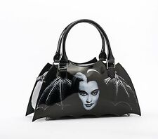 Rock Rebel GG Rose Lily Munster Bat Shaped Handbag Universal Monsters Bag Purse