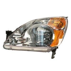 Driver Left Headlight Assembly TYC 20-6376-00-1 for Honda CR-V 2002-2004