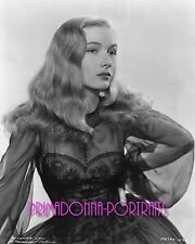 "VERONICA LAKE 8X10 Lab Photo B&W SEXY ""I Married a Witch"" 1942 Portrait"