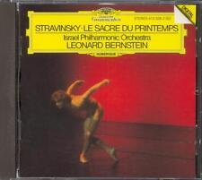 STRAVINSKY - The Rite Of Spring - Leonard BERNSTEIN / Israel PO - DG WG
