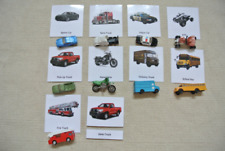 Montessori On the Road 3-Part Cards with Miniatures