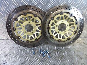 Suzuki GSF1200 Bandit  2002   front brake discs