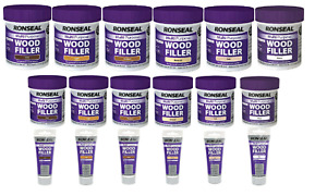 Ronseal Multi Purpose Wood Fillers 250g-465g-100g All Colours / Sizes Available!