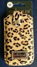 GLÖÖCKLER Tasche PRESTIGE Size M für Apple iPhone 4 4S 5 5C 5S Little Leo