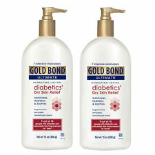 2 PACK Gold Bond Ultimate Diabetic Dry Skin Relief Lotion 13oz 041167053508YN