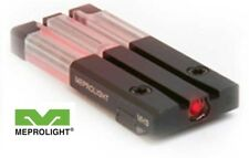 Meprolight GLOCK - FT BULLSEYE, RED Fiber-Tritium Circle-Dot Sight for Glock