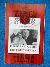 Hot Line To Heaven - Windmill Dinner Theatre Playbill w/6 Autographs - 1977