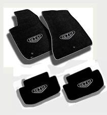 NEW! FLOOR MATS 2004 PONTIAC GTO CREST Embroidered Logo & Premium Vinyl Edge