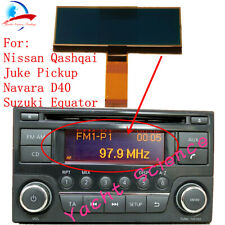 Nissan Qashqai X-Trail Frontier Note Juke Dualis Navara CD Radio LCD Display
