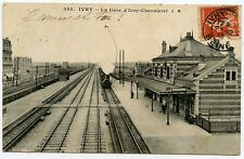IVRY. LA GARE D'IVRY-CHEVALERET. TRAIN