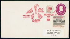 Mayfairstamps US 1984 Jefferson Memorial Olympics Cancel Cover wwh_21293