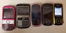 Lot Of 5 Cell Phones Parts Repair