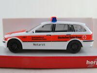 """Herpa 045605 BMW 3er Touring """"DRK Rheinhessen-Nahe/NOTARZT"""" 1:87/H0 NEU/OVP"""