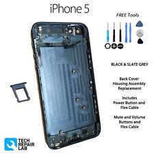 Nouvelle Couverture Arrière Logement Assemblée Remplacement Pré Assemblé Pour iPhone 5-Noir