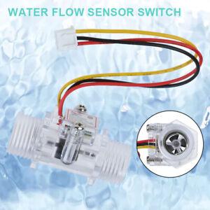 Water Flow Sensor Wasser Hall Durchflusssensor Durchflußmesser DE