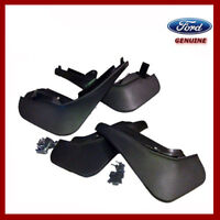 Genuine Ford Fiesta MK7 2008 - 2017 Front & Rear Mud Flaps / Guards. New.