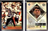 Danny Kanell Signed 1996 Classic NFL Rookies #30 Card New York Giants Auto Autog