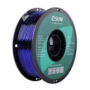eSUN 3D 1.75mm PETG Blue Filament 1kg (2.2lb), PETG 3D Printer Filament, 1.75mm