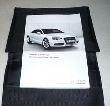 2016 Audi A5 S5 Coupe Owners Manual Set Guide 16 w/case 2.0