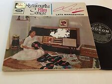LATA MANGESHKAR NM- My Favorite Film Songs Bollywood Indian EMI 3AEX.5060 Mukesh