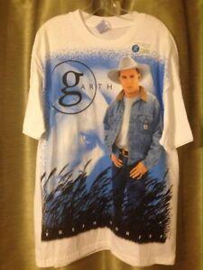 Vintage 1996 Garth Brooks Fresh Horses Concert Tour White T-Shirt XL USA