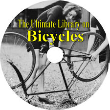 13 Books on CD, Ultimate Library on Bicycles, Tricycle, How to Build, Repair