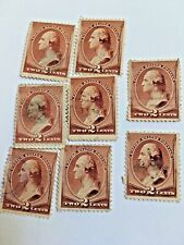 Us-Stamp-Scott-210 Lot Of 8 Used Very Good Condition