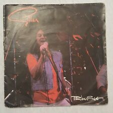"""GILLAN Trouble  7"""" Double Vinyl Pack In Gatefold Sleeve, Ex.Cond"""