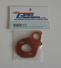 WR018 GPM Wraith Alloy Motor Plate - Orange