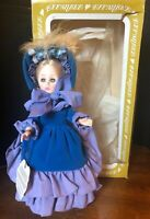 """VTG 1979 Effanbee Currier and Ives Doll Collection """"Wayside Inn"""" #1954 tag & box"""