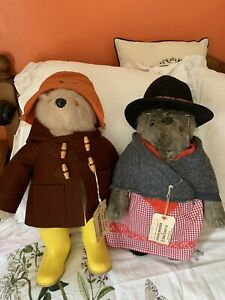 Vintage Gabrielle Paddington Bear And Aunty Lucy