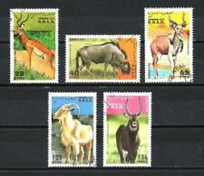 Animales Fauna salvaje Sahara Occidental 107 serie completo 5
