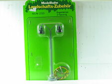 Modellbahn Landsschafts-Zubehör 1720 Bogenlampe 2-flammig OVP (y2317)