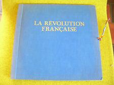 3*LP LA REVOLUTION FRANCAISE-TEXTE IMAGE  MUSIQUE-ANDRE CHARLIN-GID M 2262