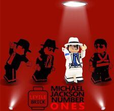**Pre-order**LYL BRICK Custom Michael Jackson White Suit Lego Minifigure