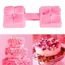 1pc Flower Silicone Fondant Mould Cake Decorating Chocolate Baking Mold Tool AU