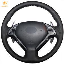 Top PU Steering Wheel Cover Wrap for Infiniti G25 G35 G37 QX50 EX25 EX35 EX37