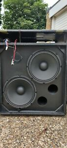 Ampeg 2x10 cab & speakers with amp BA210 head for spares or parts