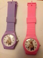 Gilbert Pequeña Princesa Reloj Rosa/Púrpura Pequeño niños TV regalo de Navidad poste libre