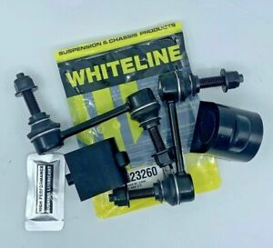NEW WHITELINE D BUSHES & FRONT SWAY BAR LINKS FALCON FG FG2 FGX FPV XR8 XR6 XR6T