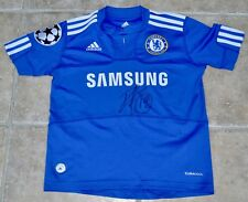 Chelsea Football Shirt Signed By Paulo Ferreira