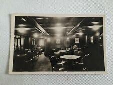 Ak Postkarte Boot 'Stuttgart' Rauchzimmer, Norddeutscher Lloyd Bremen (j2)