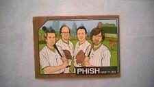 Phish baseball card Mann Ctr 8/11/2015