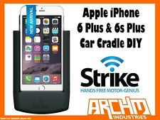 STRIKE ALPHA APPLE IPHONE 6 & 6s PLUS CAR CRADLE DIY - IN-BUILT FAST CHARGER