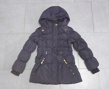 Mädchen ❄️ Daunenjacke 122  ❄️ gesteppt warm Jacke Winterjacke grau tailliert ❄️