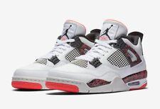 Nike Air Jordan Retro 4 Flight Nostalgia 308497 116 Citron Crimson Red Size 12